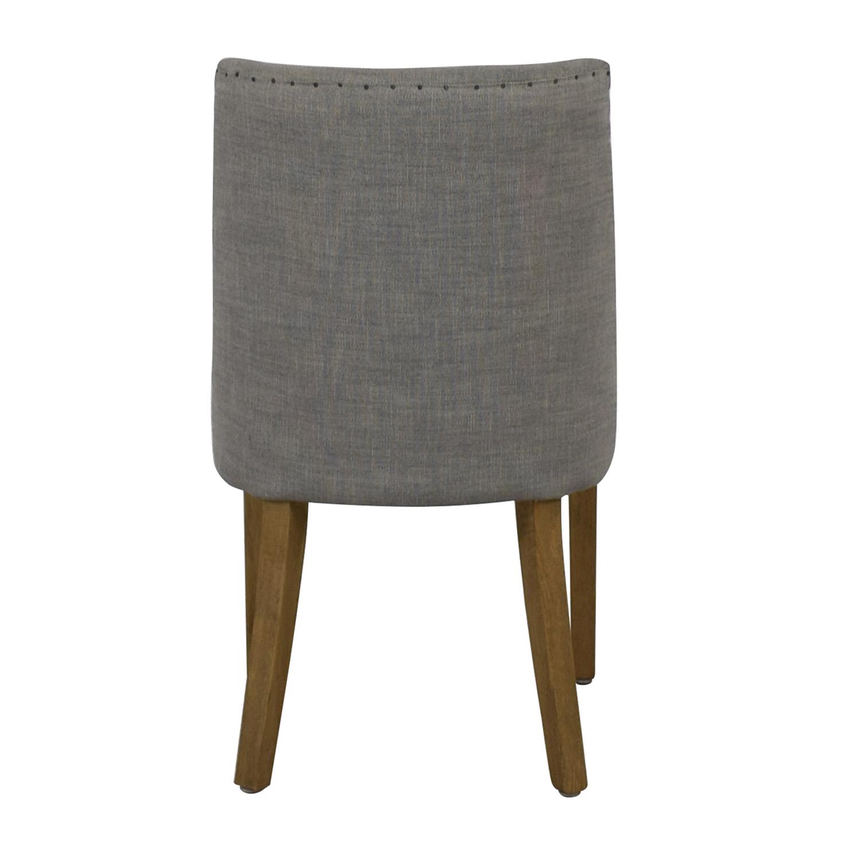 Restoration Hardware Restoration Hardware 1940S French Barrelback Fabric Side Chair