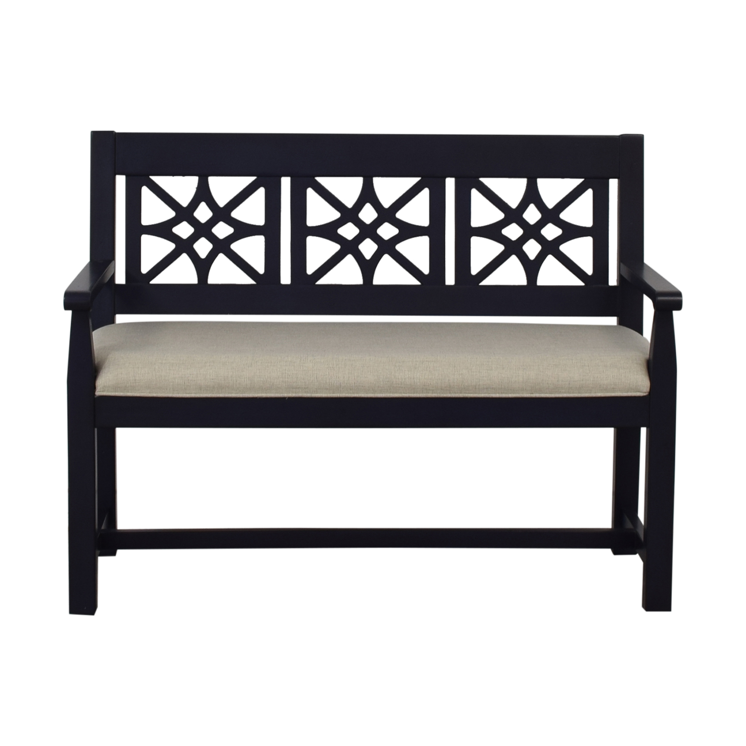 62 Off Trisha Yearwood Cracker Jack Wood Entryway Bench Chairs
