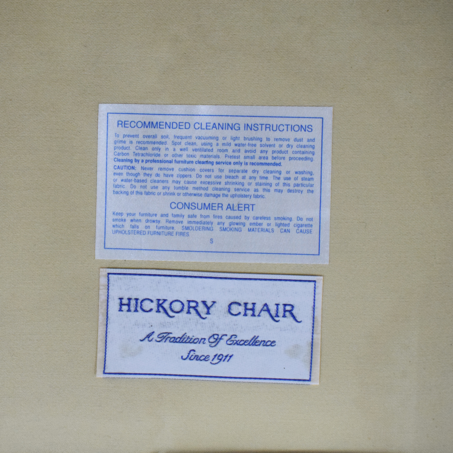 Hickory Chair Hickory Chair Accent Chair second hand