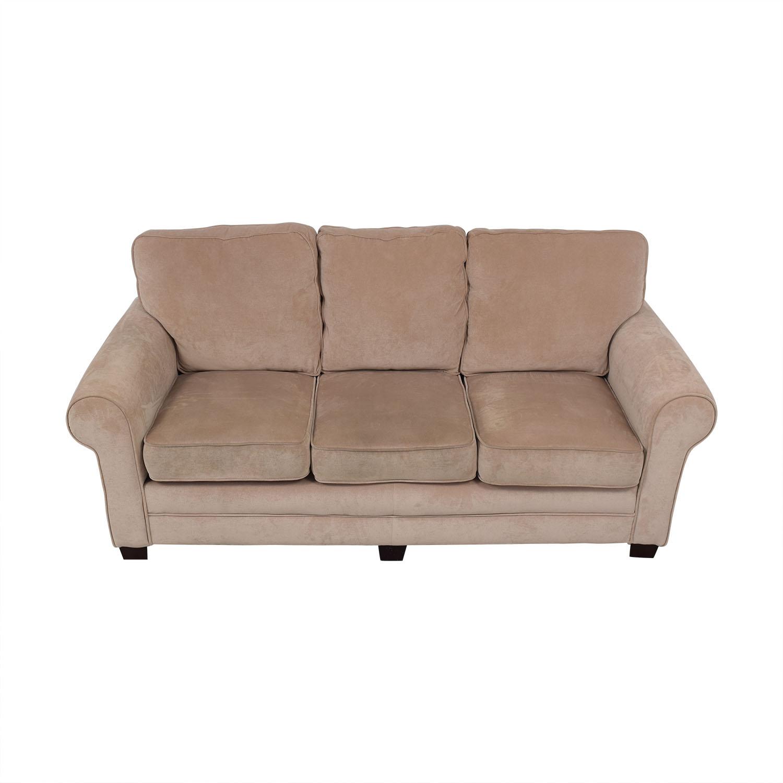 Bob's Discount Furniture Bob's Discount Furniture Three Cushion Sofa nj