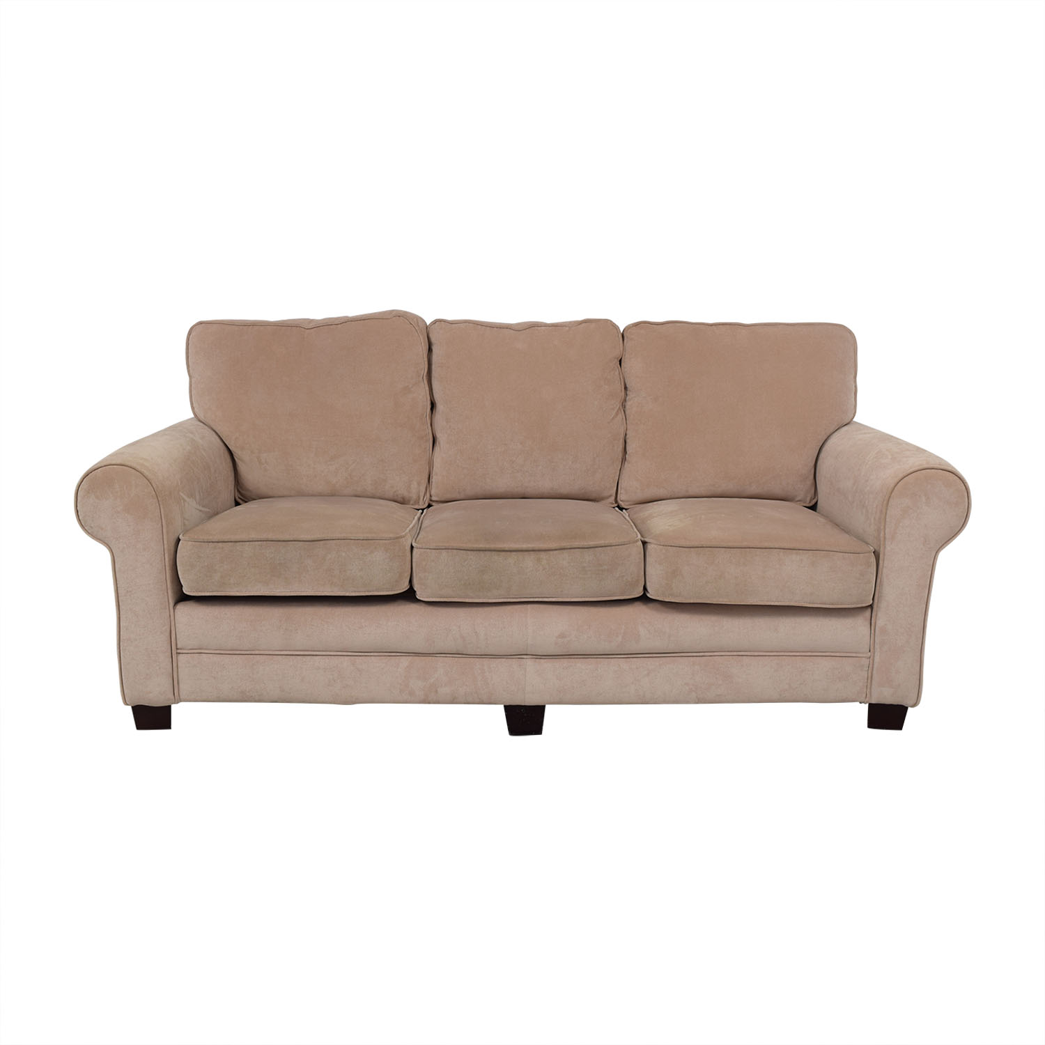 buy Bob's Discount Furniture Three Cushion Sofa Bob's Discount Furniture