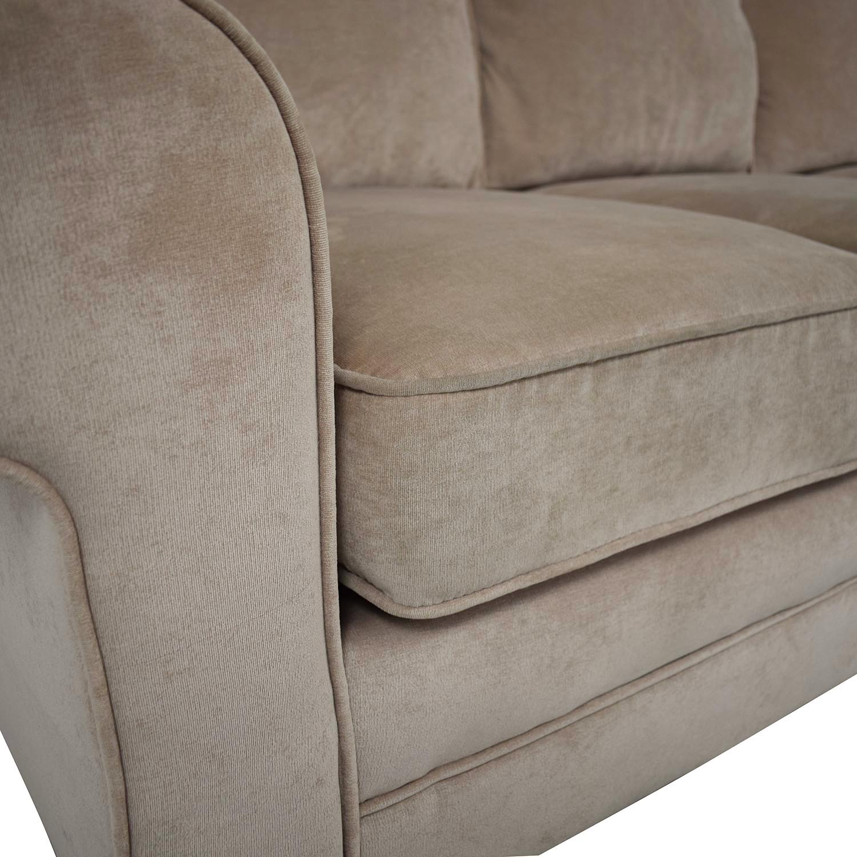 Bob's Discount Furniture Bob's Discount Furniture Three Cushion Sofa used