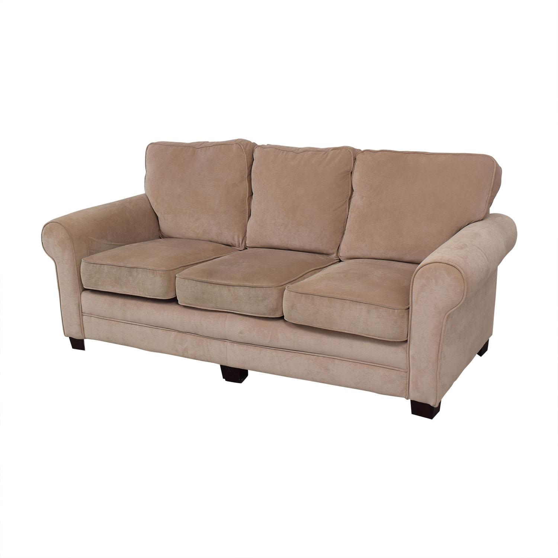 Bob's Discount Furniture Three Cushion Sofa / Classic Sofas