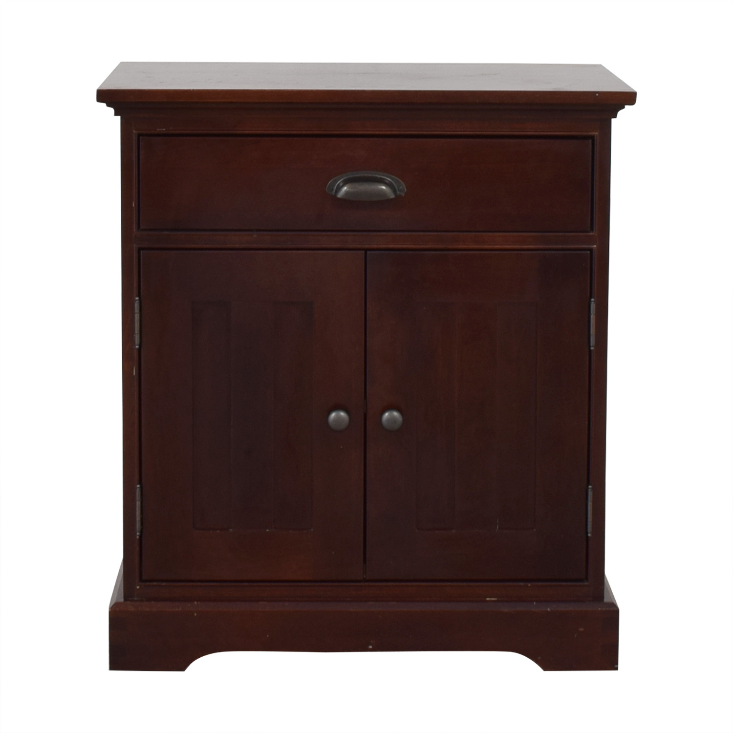 Restoration Hardware Restoration Hardware Marston Closed Nightstand on sale