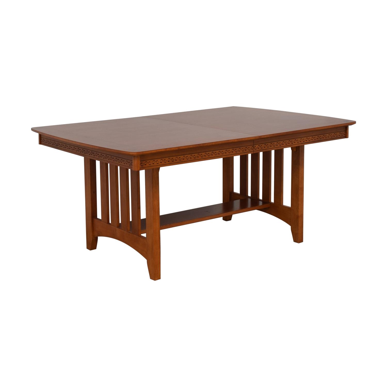 Vaughan-Bassett Vaughan-Bassett Shaker Style Trestle Table