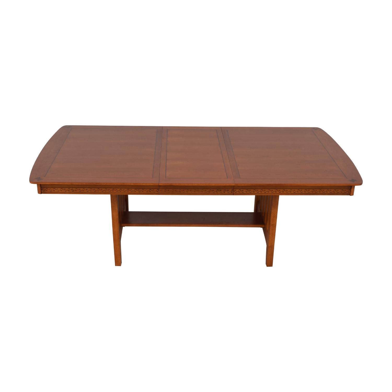 Vaughan-Bassett Shaker Style Trestle Table / Dinner Tables