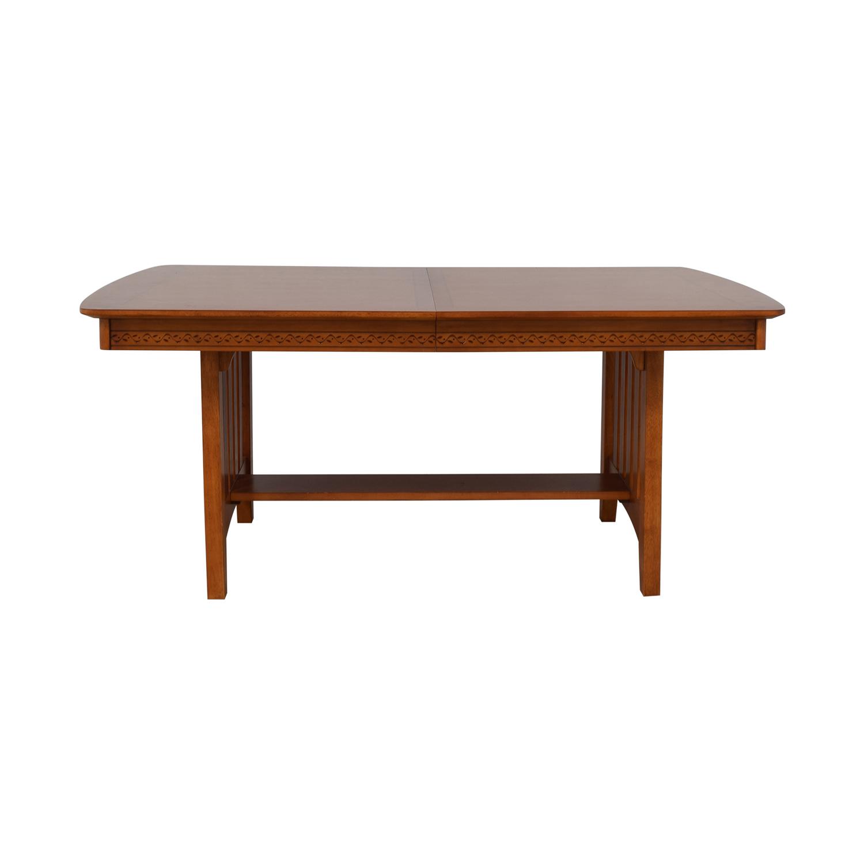 Vaughan-Bassett Vaughan-Bassett Shaker Style Trestle Table nyc