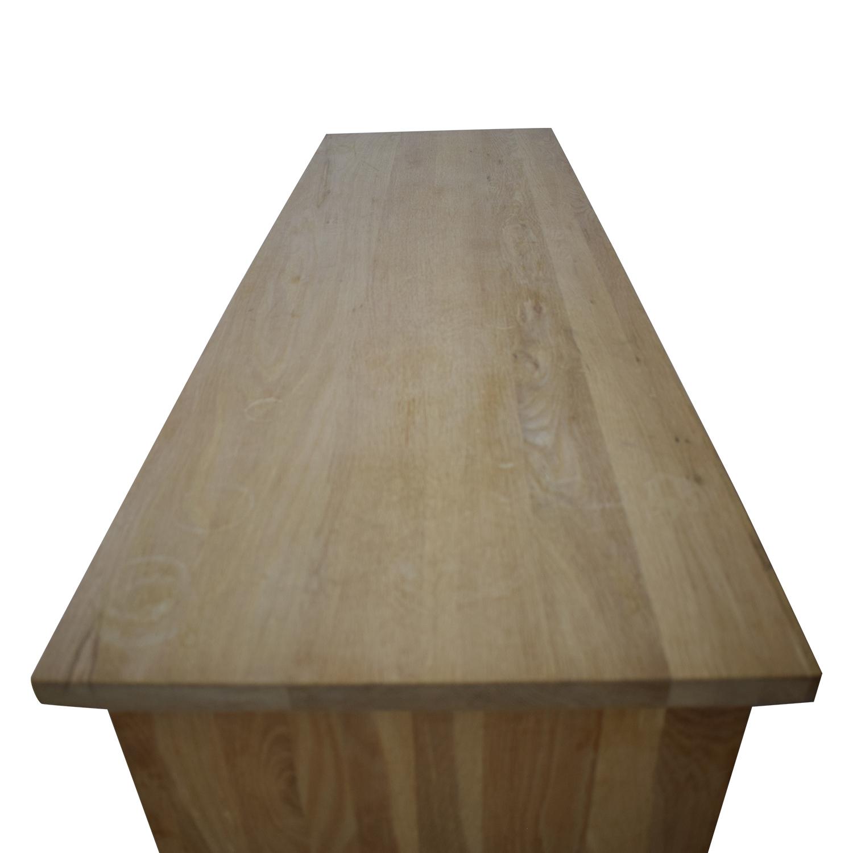 Design Workshop Design Workshop Wooden Dresser on Casters second hand