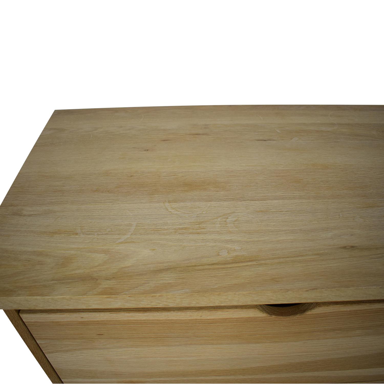 Design Workshop Design Workshop Wooden Dresser on Casters price