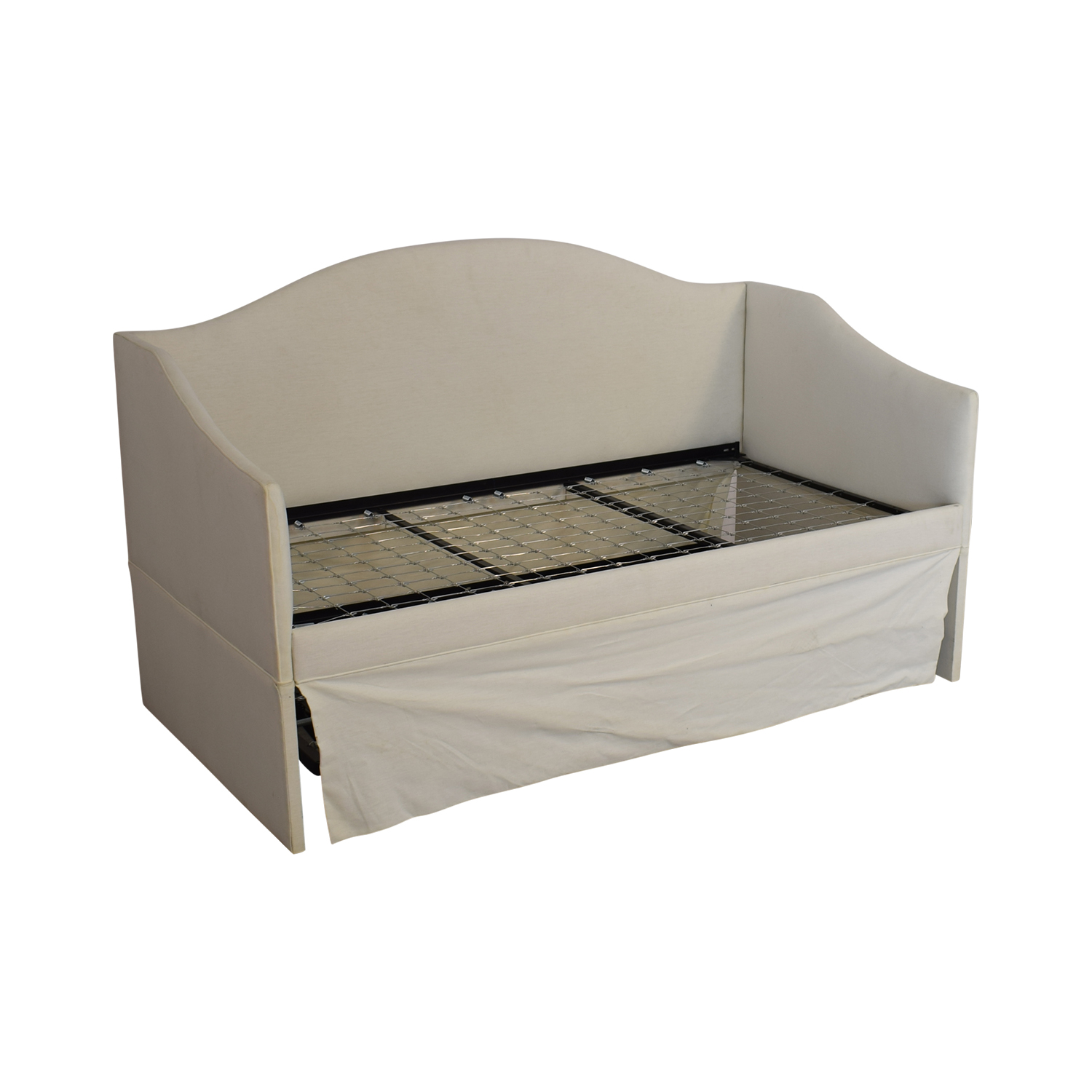 buy Ballard Designs Larkin Upholstered Daybed with Trundle Ballard Designs Bed Frames