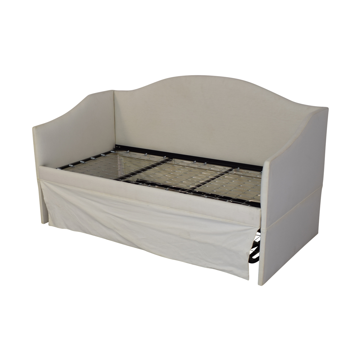 buy Ballard Designs Larkin Upholstered Daybed with Trundle Ballard Designs