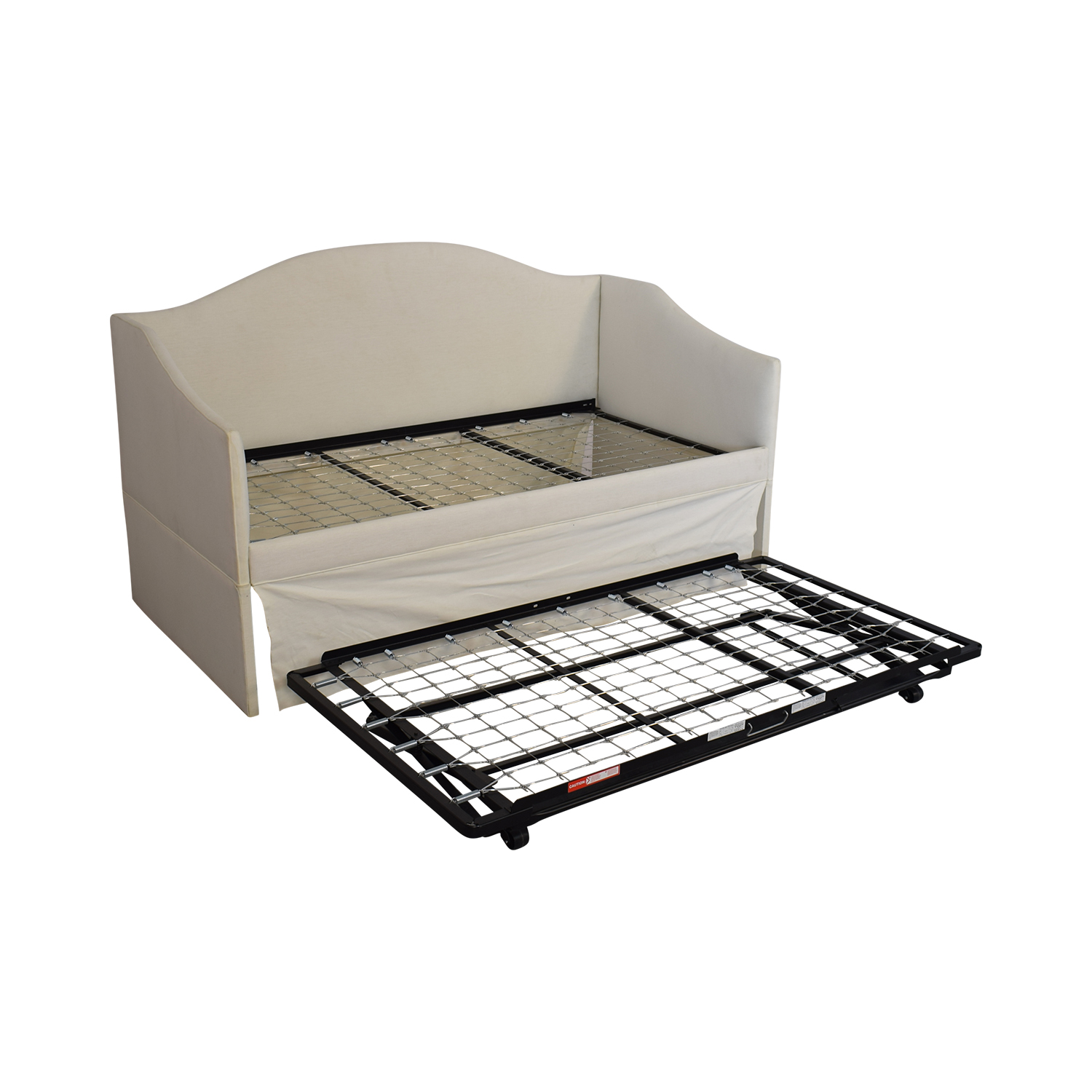 shop Ballard Designs Larkin Upholstered Daybed with Trundle Ballard Designs Bed Frames