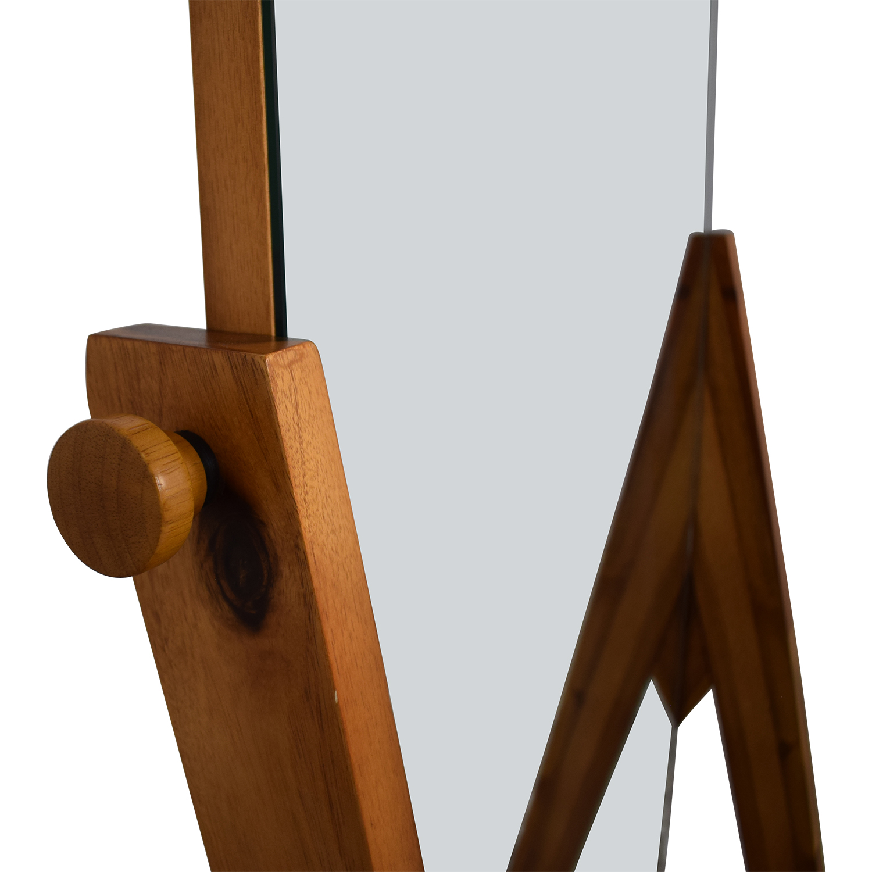 CB2 Drommen Standing Mirror / Decor