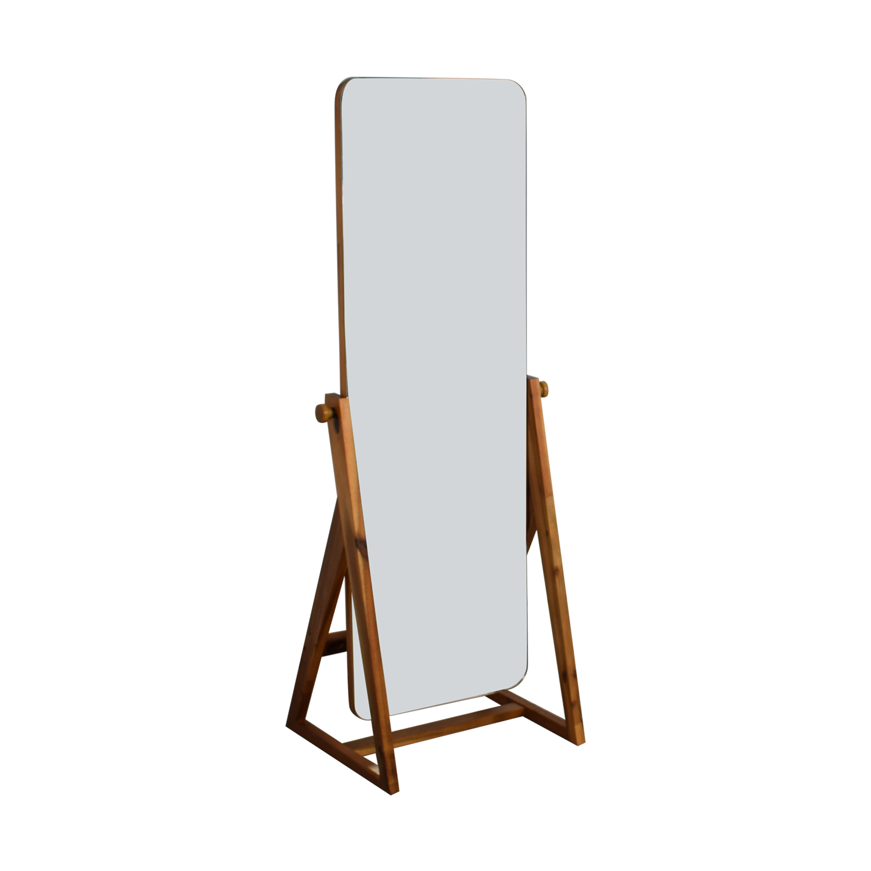 CB2 CB2 Drommen Standing Mirror on sale
