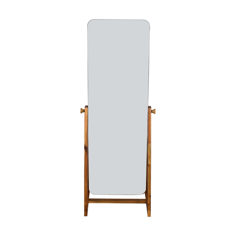 buy CB2 Drommen Standing Mirror CB2 Decor