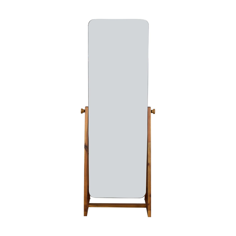 CB2 CB2 Drommen Standing Mirror Mirrors