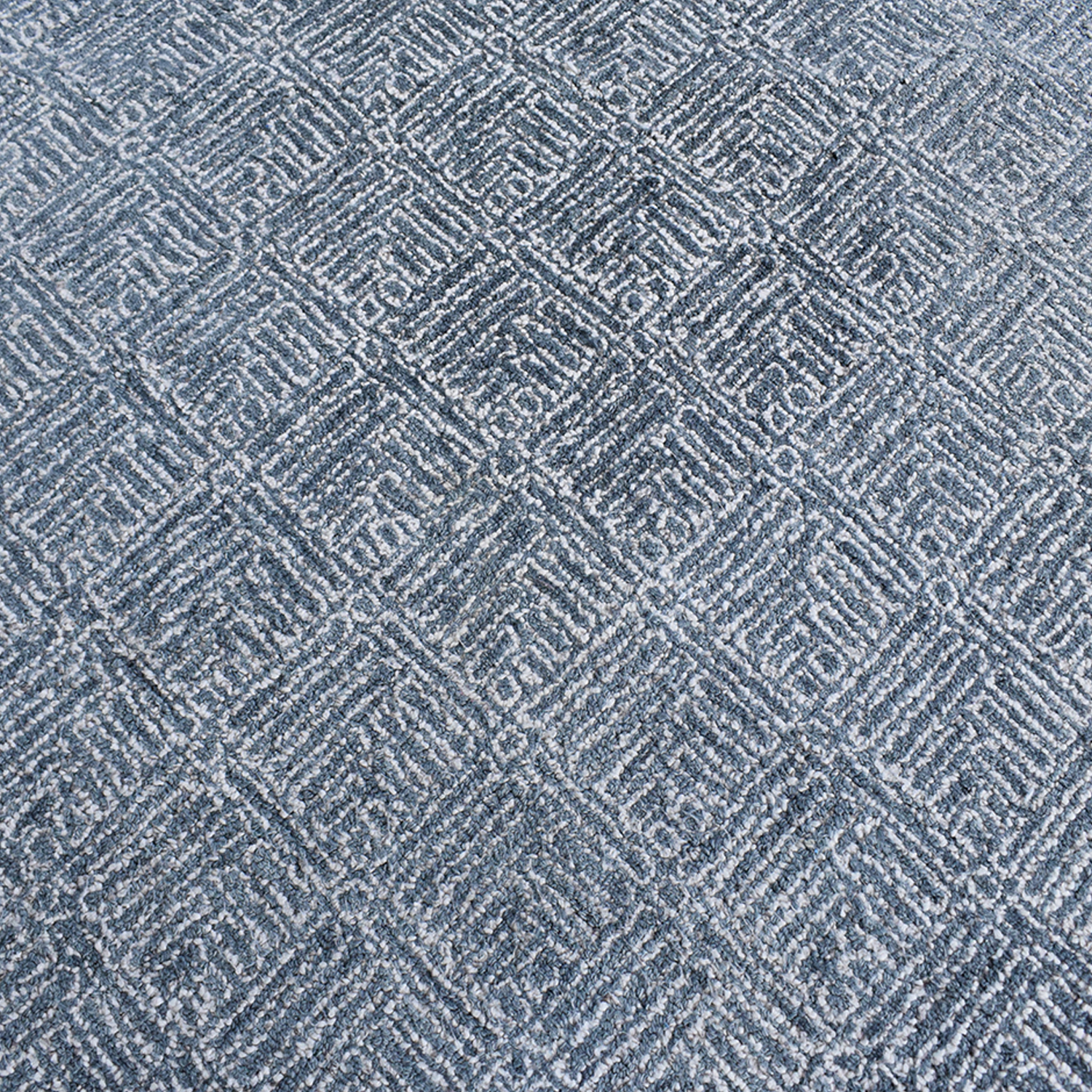 Crate & Barrel Crate & Barrel Curtis Indigo Wool-Blend Rug nj