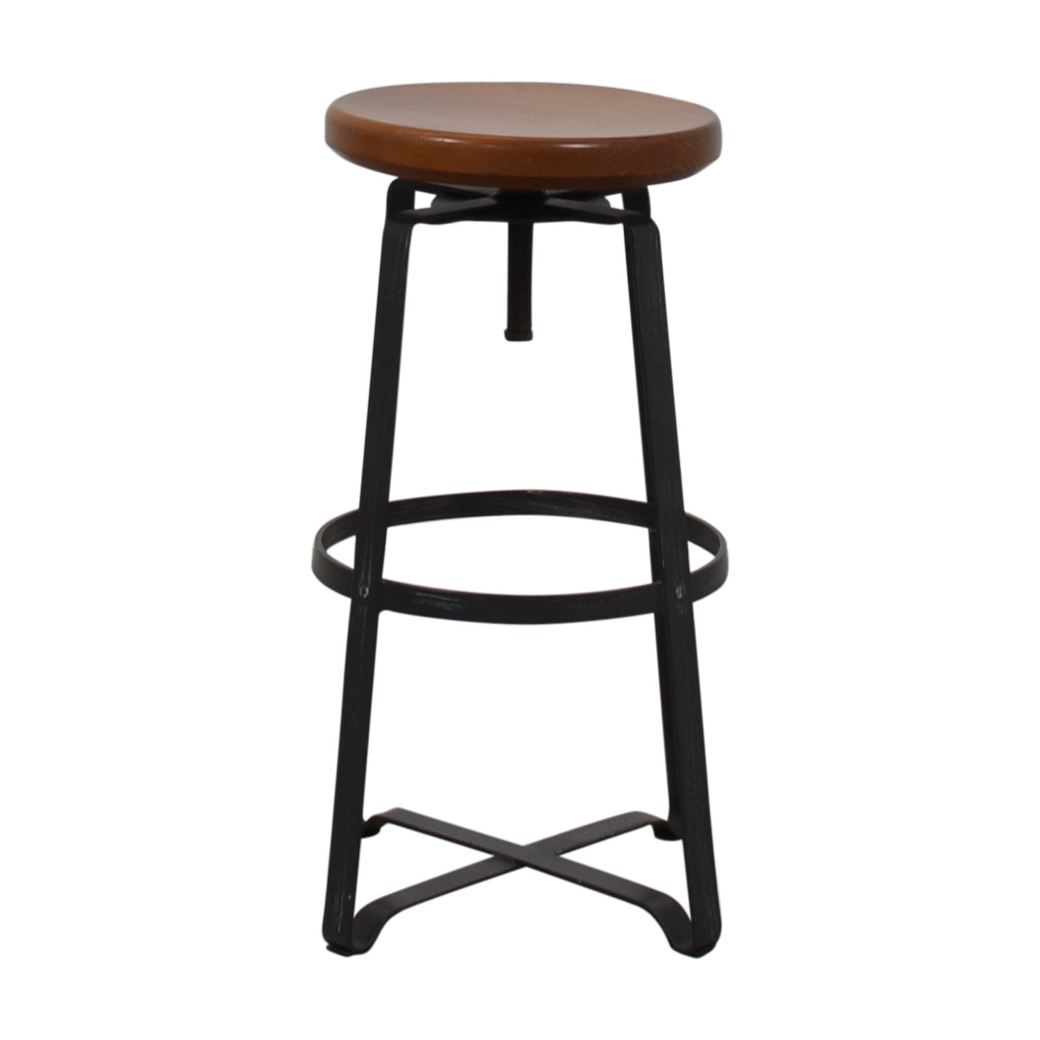 West Elm West Elm Adjustable Industrial Stool for sale