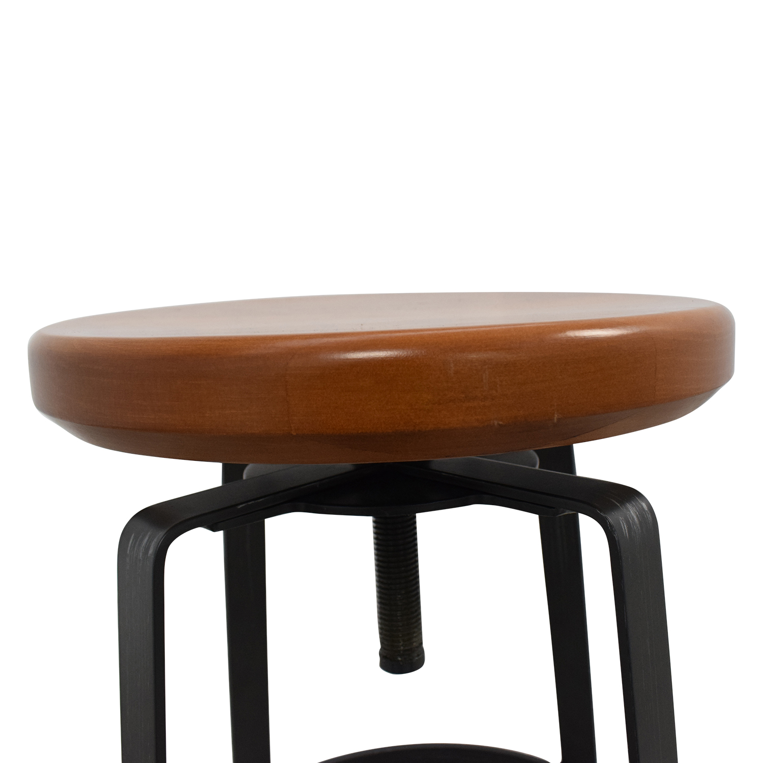 shop West Elm Adjustable Industrial Stool West Elm