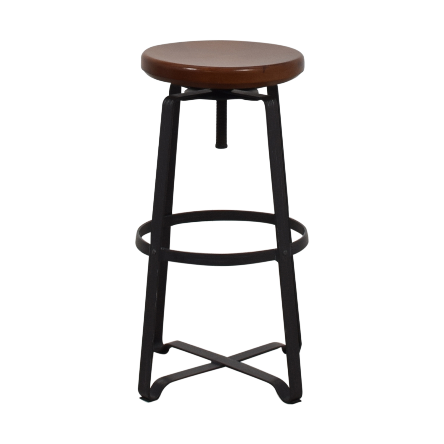 West Elm West Elm Adjustable Industrial Stool on sale