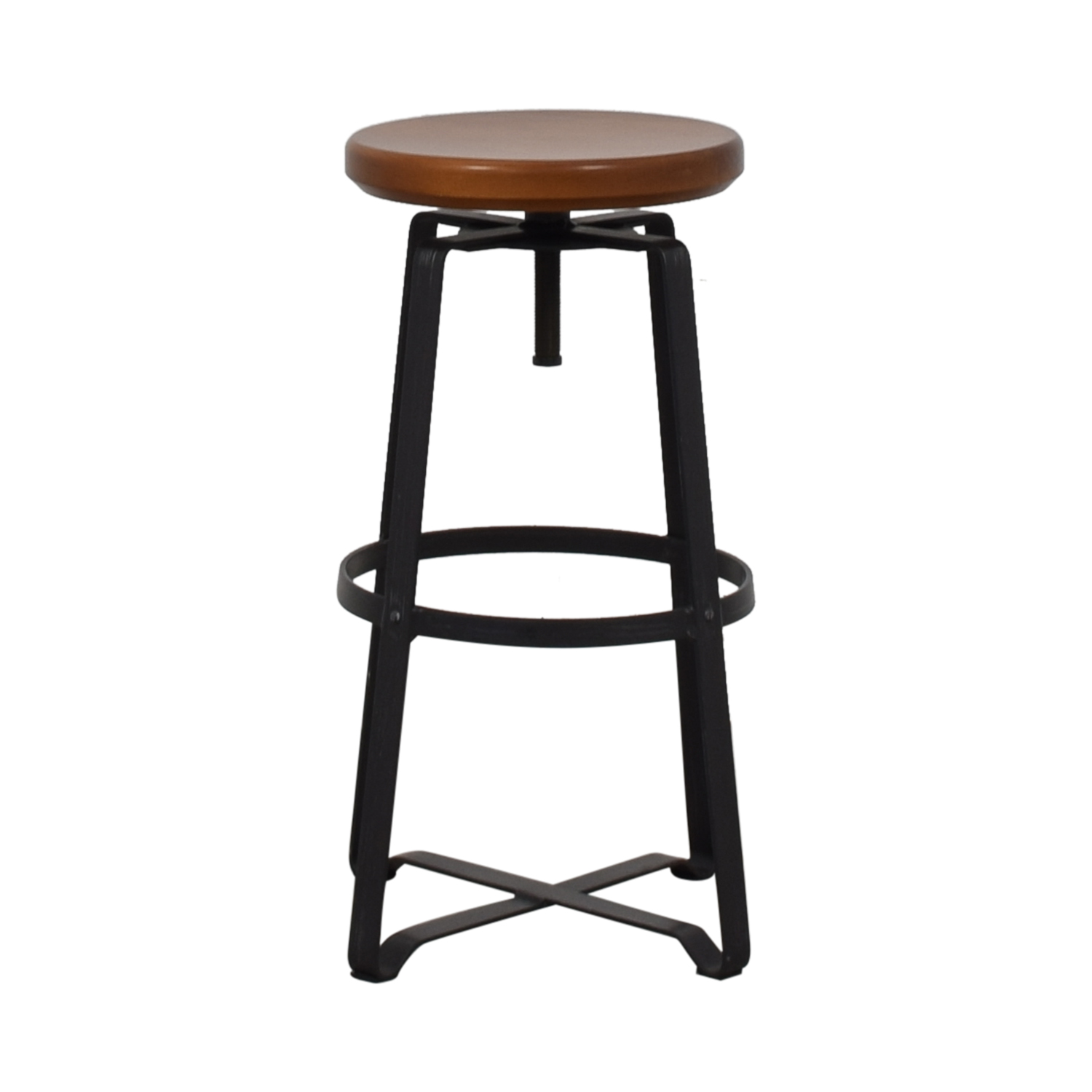 West Elm Adjustable Industrial Stool West Elm