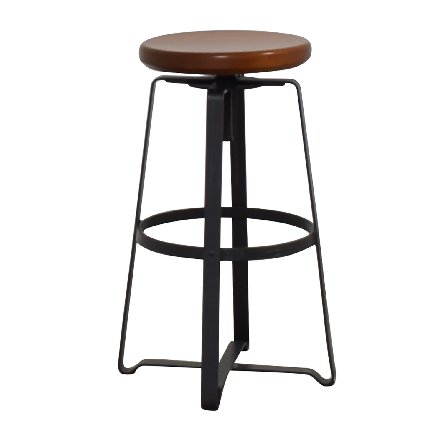 shop West Elm Adjustable Industrial Stool West Elm Chairs