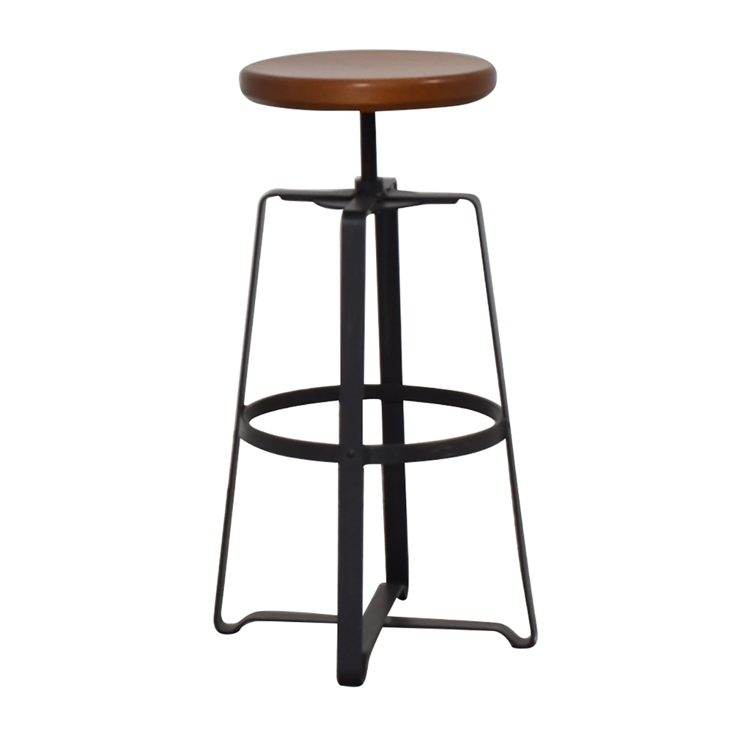 buy West Elm Adjustable Industrial Stool West Elm