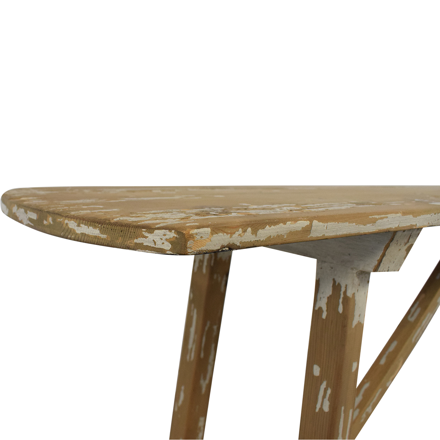 Distressed Console Table discount