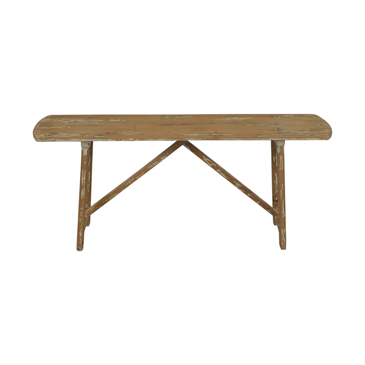 Distressed Console Table coupon
