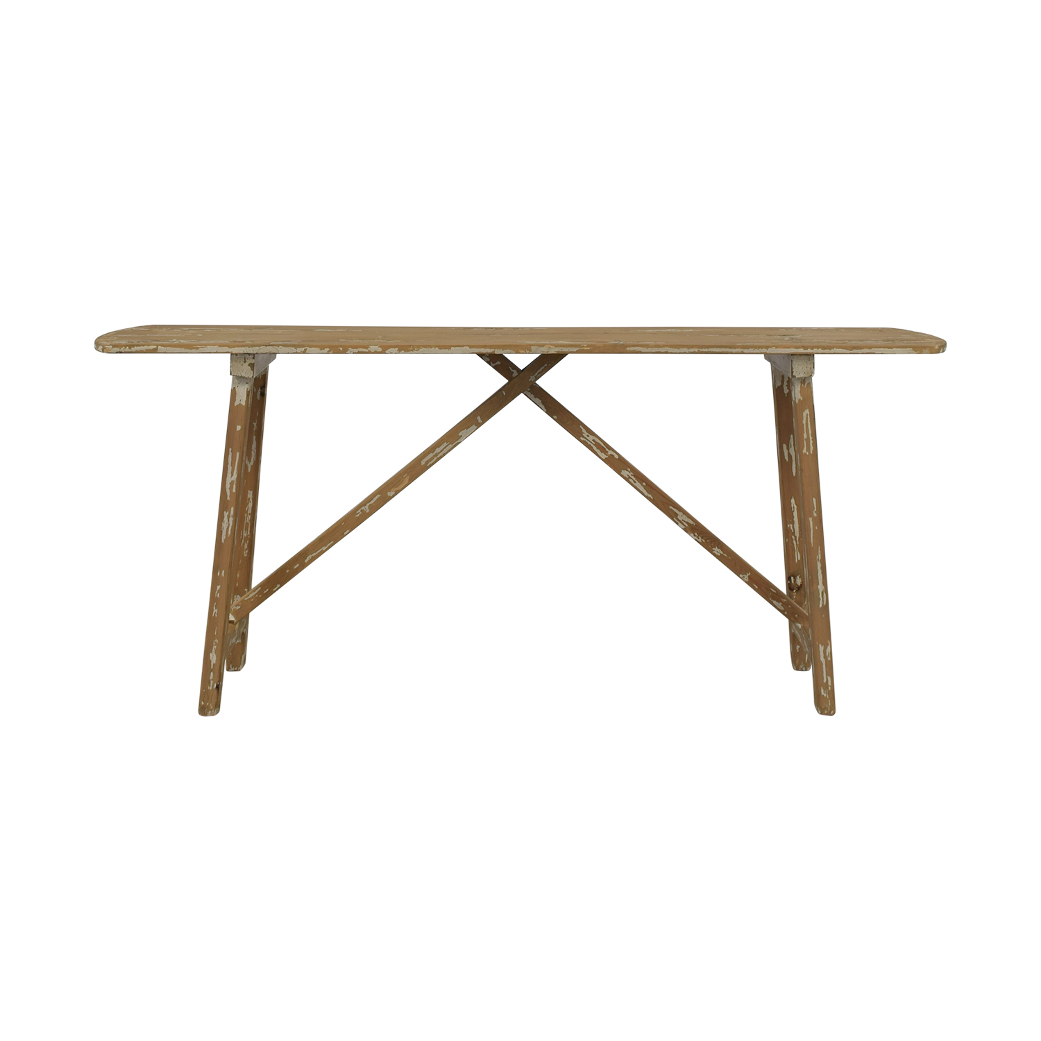 buy Distressed Console Table  Utility Tables