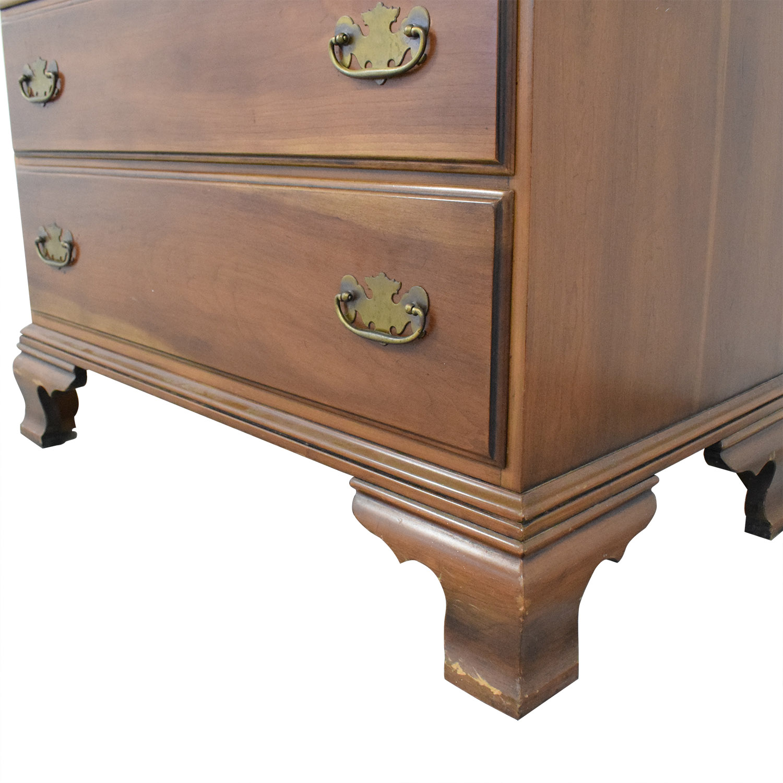 Tall Five Drawer Dresser Brown