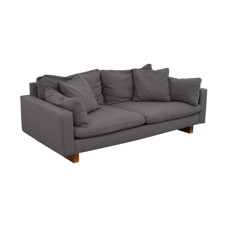 buy West Elm Down-Filled Deep Sofa West Elm