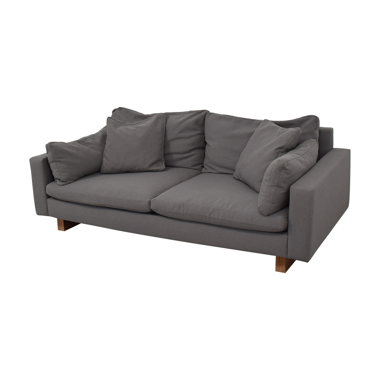 buy West Elm Down-Filled Deep Sofa West Elm Sofas