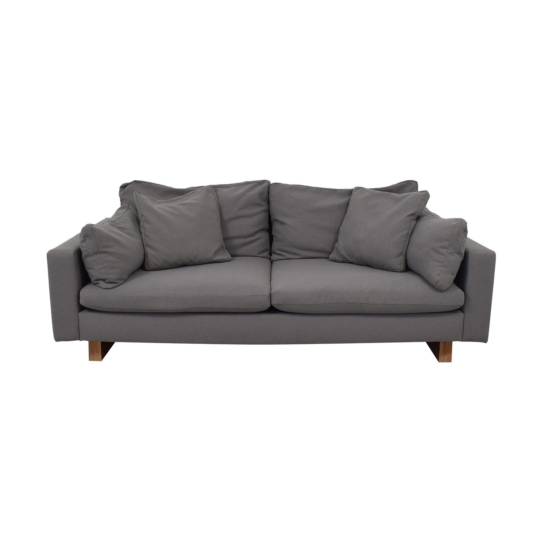 West Elm West Elm Down-Filled Deep Sofa second hand