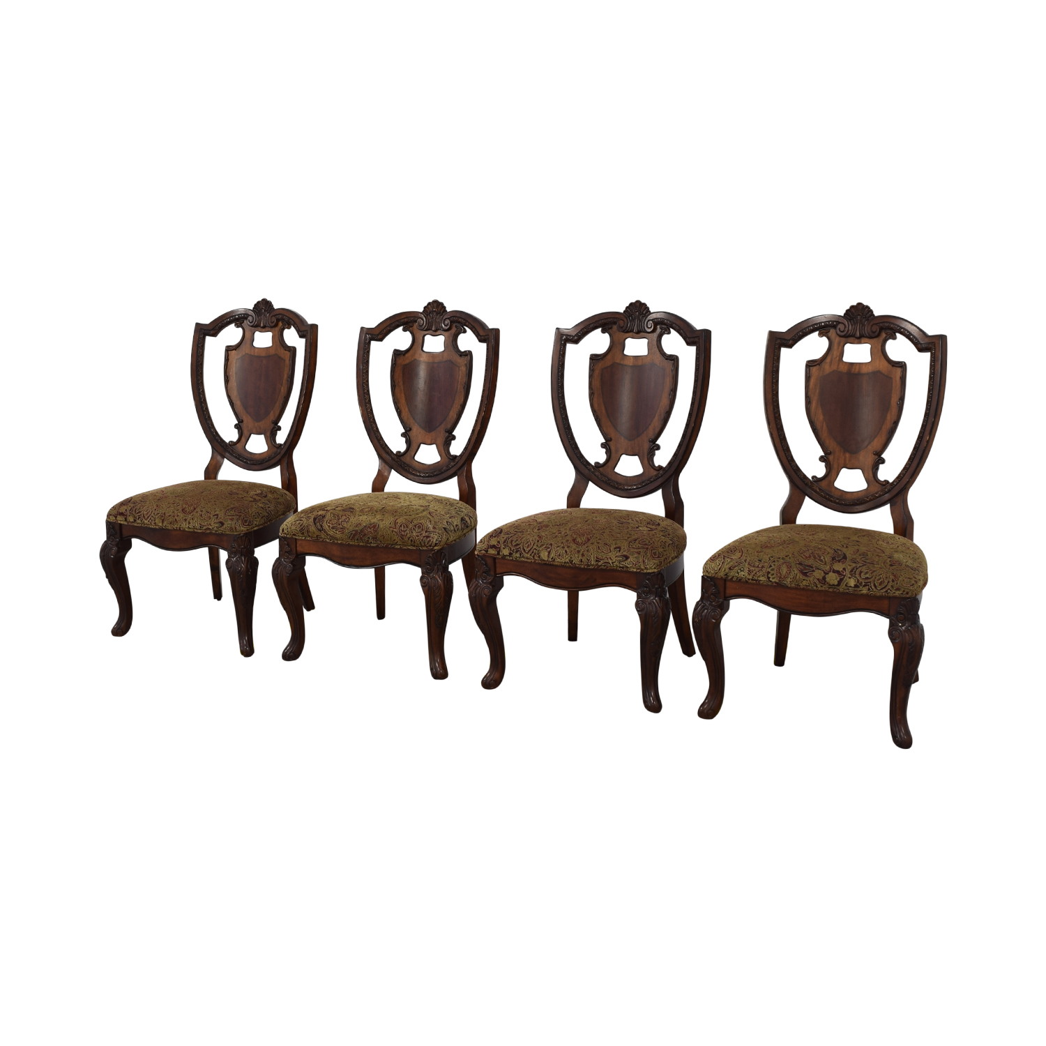 shop Macy's Upholstered Seat Dining Chairs Macy's