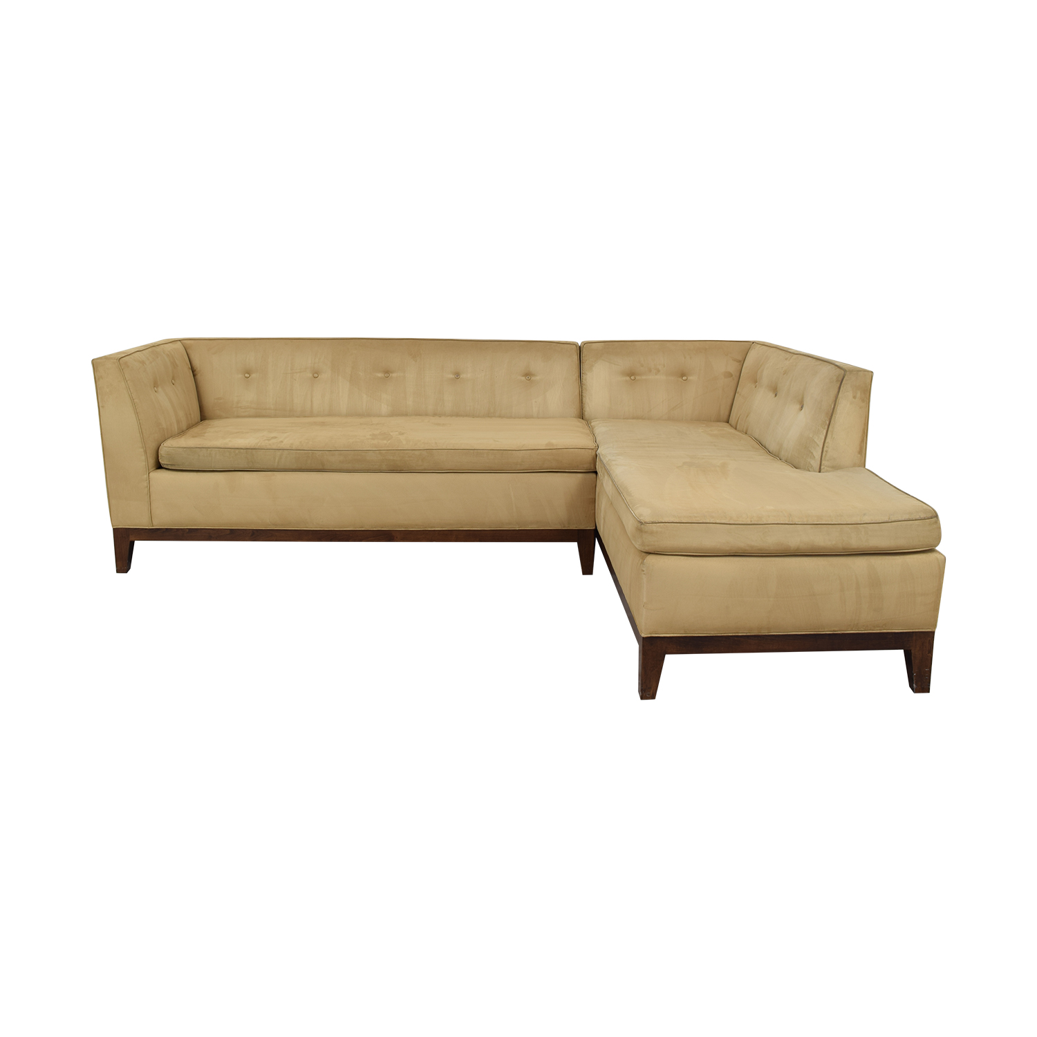 Two Piece Chaise Sectional nyc