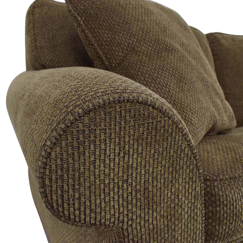Bloomingdale's Bloomingdale's Sleeper Sofa brown