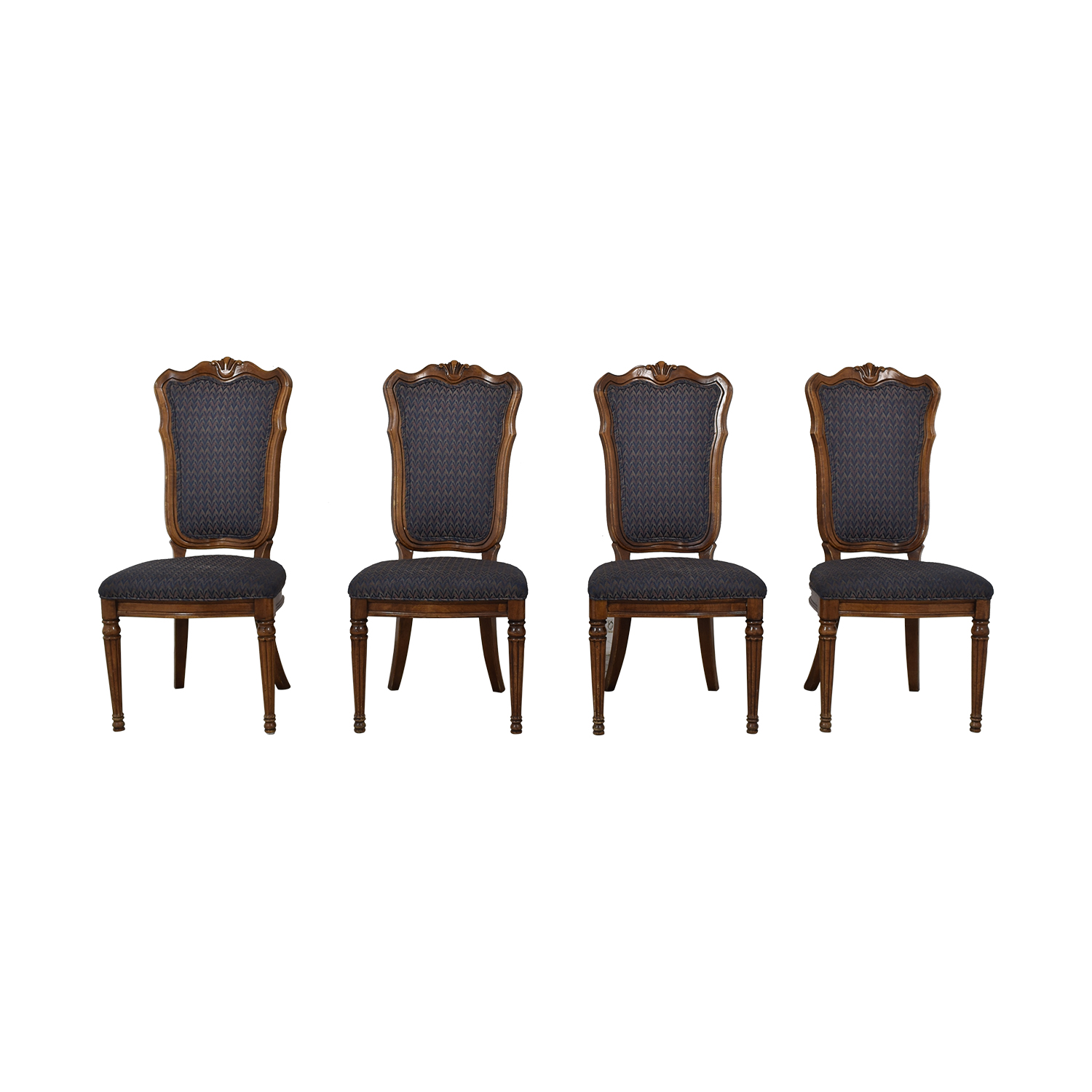 Printed Upholstered Dining Chairs dimensions