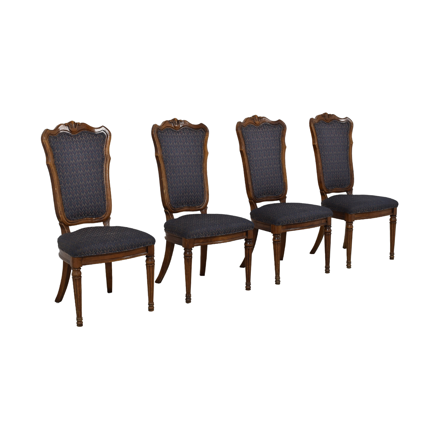 Printed Upholstered Dining Chairs / Tables