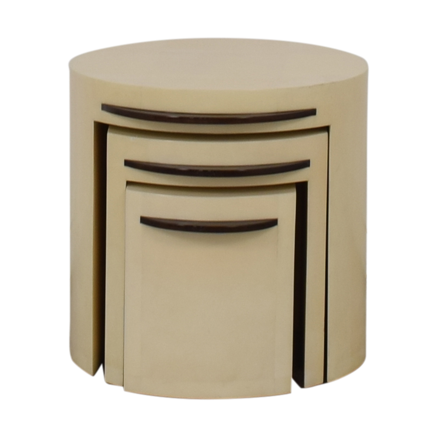 Lorin Marsh Lorin Marsh Lacquered Nesting Tables for sale