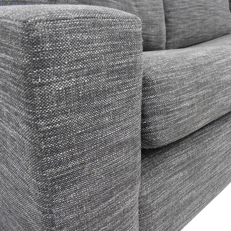 shop West Elm Urban Sleeper Sofa with Right Arm Storage Chaise West Elm
