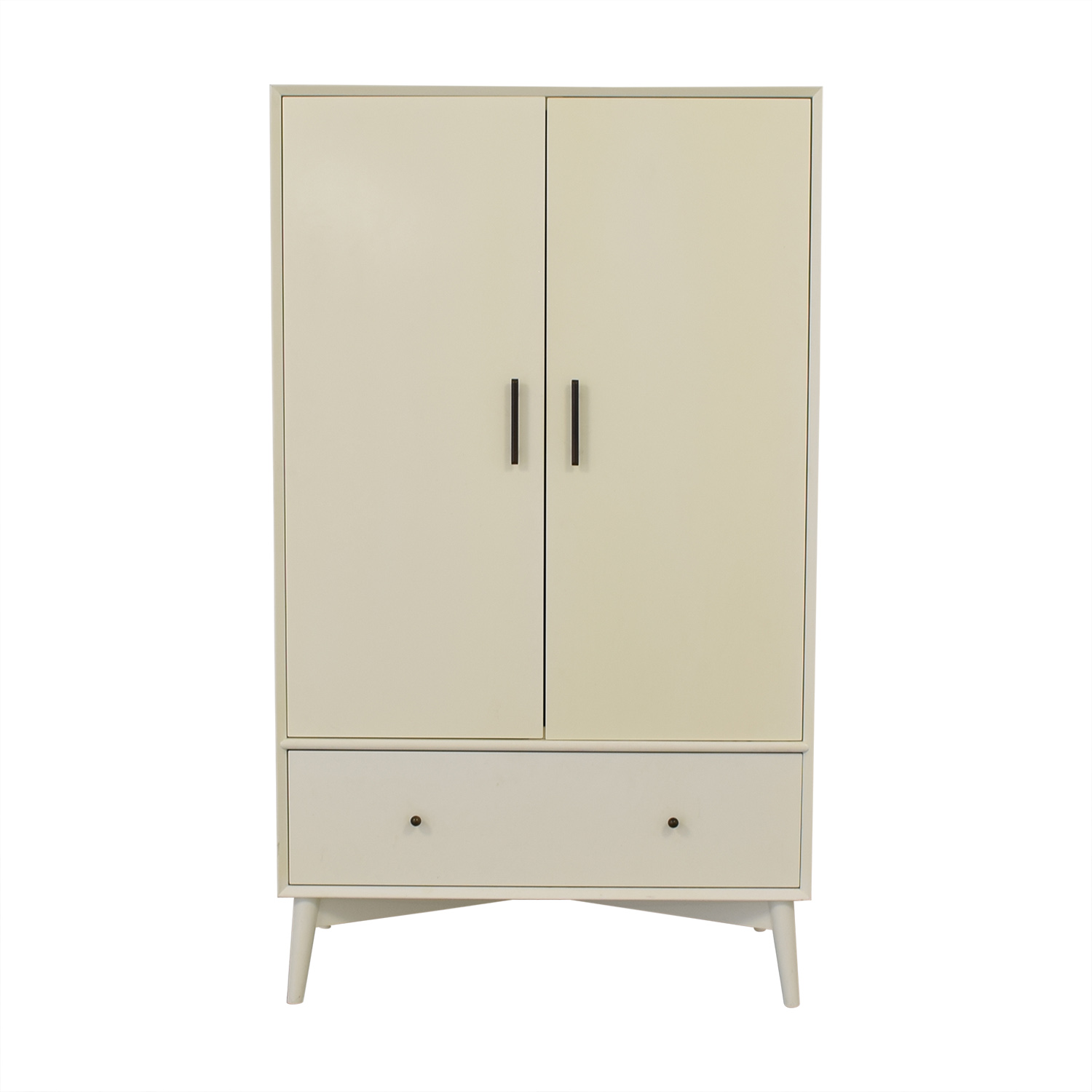 shop West Elm Mid Century Wardrobe West Elm Storage