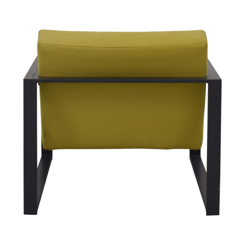 CB2 CB2 Specs Chair Lime Green