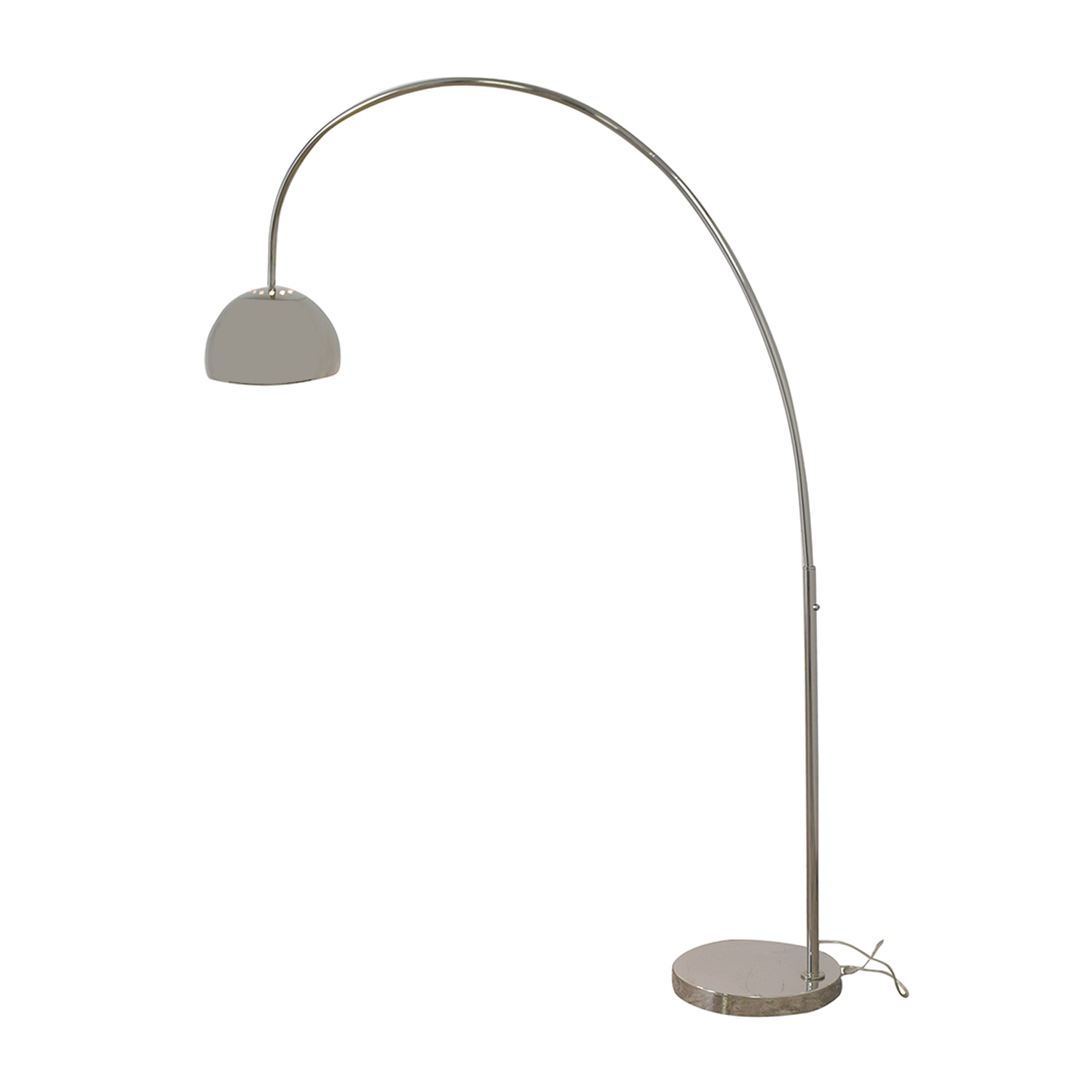 West Elm Overarching Metal Shade Floor Lamp / Lamps
