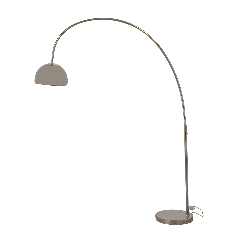 buy West Elm Overarching Metal Shade Floor Lamp West Elm