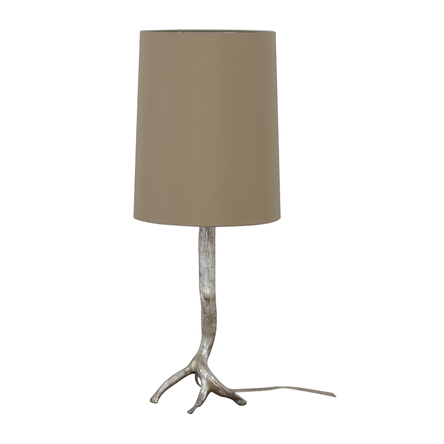 Visual Comfort Visual Comfort Silver Tree Base Table Lamp on sale