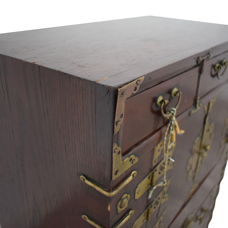 Oriental Decorative Cabinet coupon
