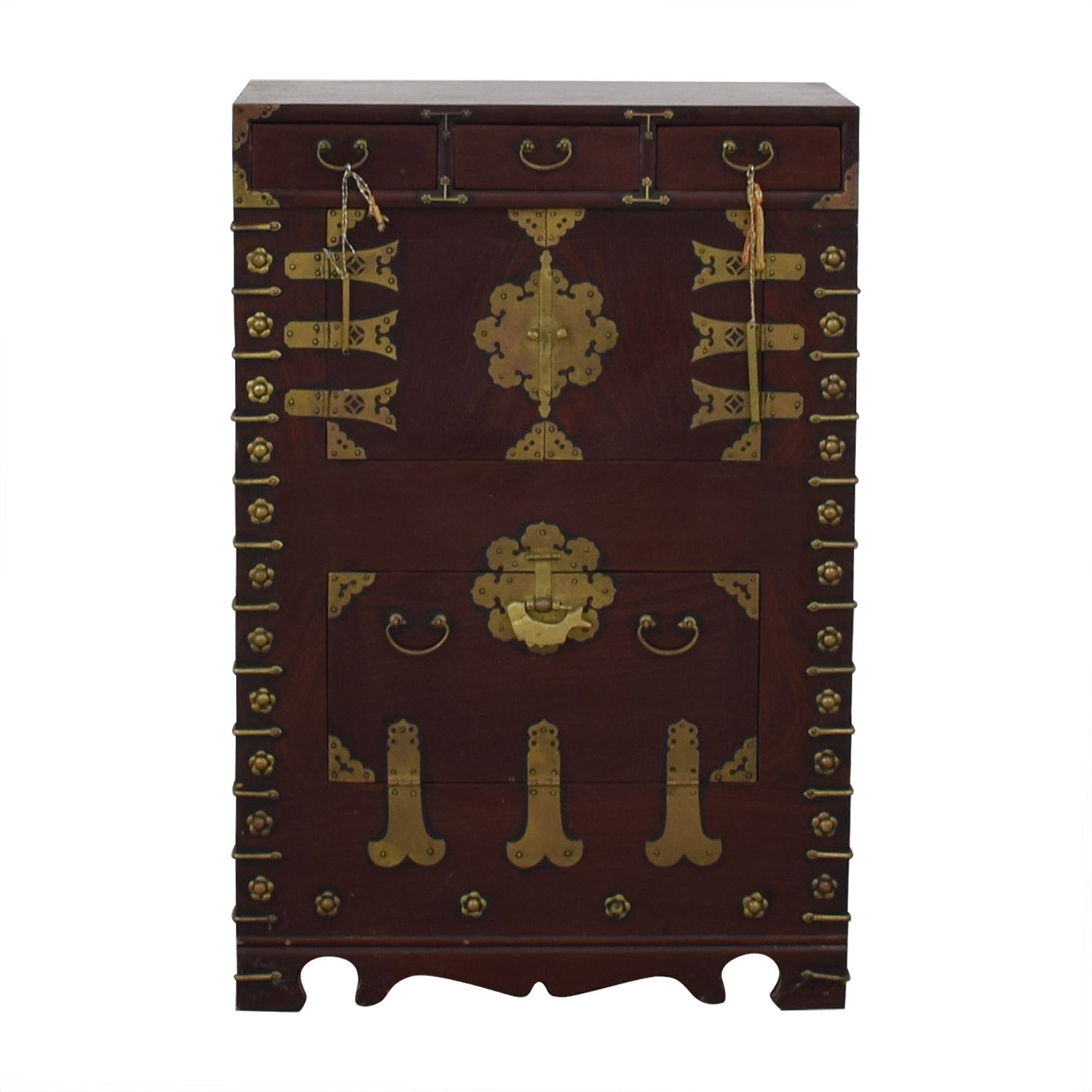 Oriental Decorative Cabinet / Storage