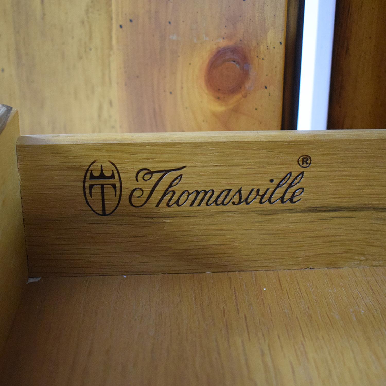 Thomasville Thomasville Two Door Armoire Storage