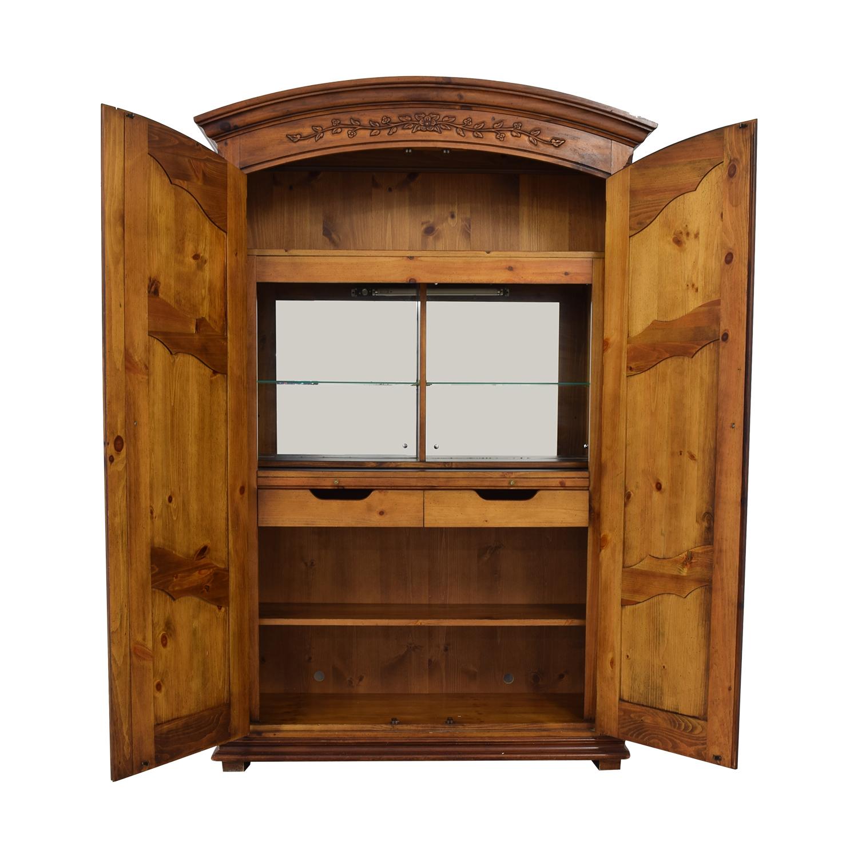 Thomasville Two Door Armoire / Storage